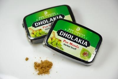 Табак Dholakia Herbal Пан Масала 9g(beztytoniowa)