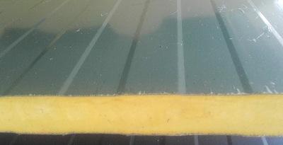 Płyta warstwowa, poliuretanowa PIR na drzwi- 40 mm