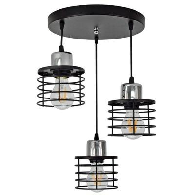 Лампа Люстра LED Потолок подвесной светильник VIGO Хром E27