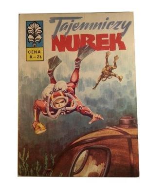 KAPITAN ŻBIK - TAJEMNICZY NUREK 1973 r. wyd. I