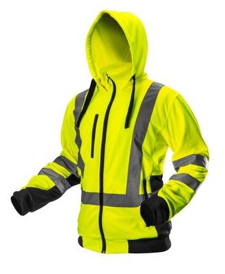 Neo толстовки ФЛИС куртка рабочая предупреждения желтый