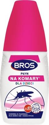 жидкость Bros ДЛЯ ДЕТЕЙ от КОМАРОВ спрей защитный 50 мл