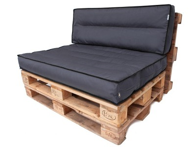 подушка , матрас на скамейку из ПОДДОНОВ -HOBBYGARDEN