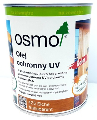 Osmo prírodný Olej 425 UV Extra 2.5 l DUB