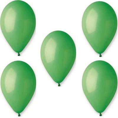 Воздушные шары Пастель Gemar G90 Зеленые-10 штук