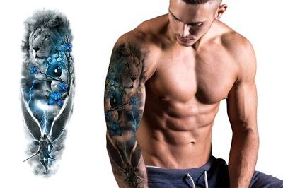 Tatuaż Rękaw Zmywalny Tymczasowy Bduży 7395247018