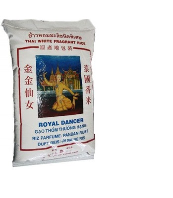 РИС jaśminowy ROYAL DANCER без ГЛЮТЕНА 4 ,5 КГ