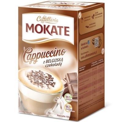 Mokate капучино Бельгийский Шоколад 150г бумажная коробка
