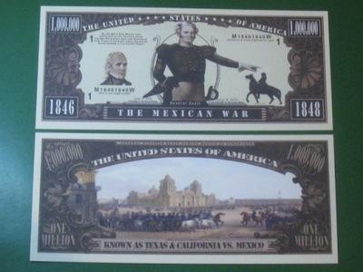 ??? One Million Мексиканская Война 1846 - 1848 UNC