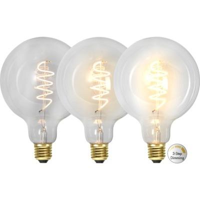 Лампа LED E27 G125 4 ВТ Filament 3 -ступени МОЩНОСТИ