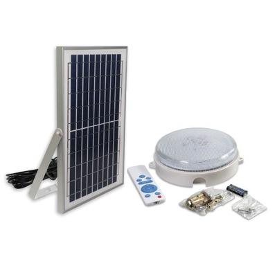 Lampa 20W PREMIUM solárne SÚMRAKU SENZOR +diaľkové ovládanie