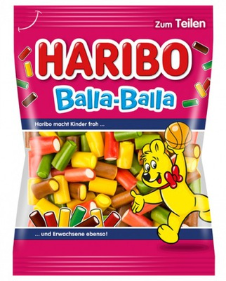Haribo Balla Balla драже фруктовые 175g