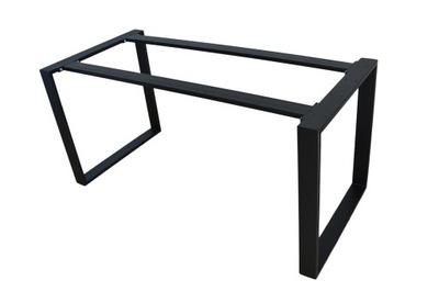 Металлическая конструкция стола соединяется 160x70x72 см