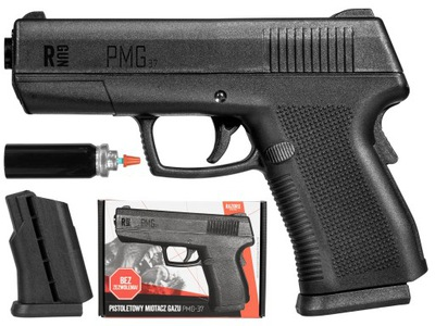 Pistolet GAZOWY WKŁAD PIEPRZOWY OBRONNY PMG-37 PRO