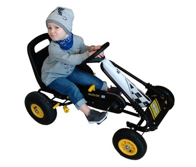 pretekárske Auto go Kart pedál pneumatické kolesá