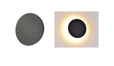 6106 Digilamp LED Vonkajšie nástenné svietidlo 7W sivá