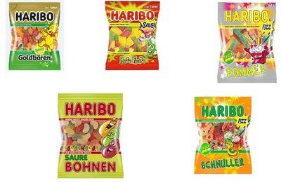 Мишки Haribo Кислотные микс 1 кг из Германии