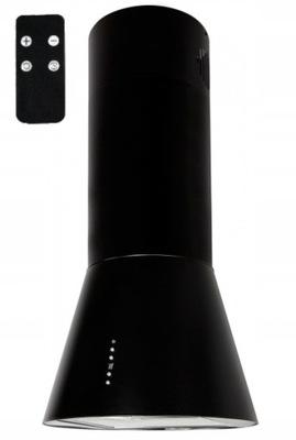 вытяжка островной Черный тюбик Nortberg INSPIRO 50см LED