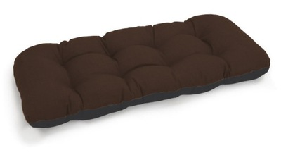подушка на скамейку садовую качели 120x50 бронза