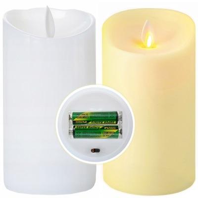 СВЕЧА LED 12 ,5x7,5 см подвижный пламя LC3+ батареи