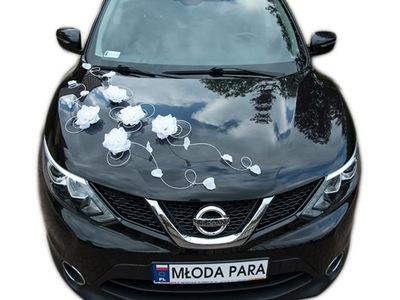 Dekoracja samochodu ozdoby na auto do ślubu A24