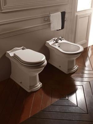 WC misa - STOJANÁ TABULKA KERASAN RETRO + VYBAVENÁ PLOCHA