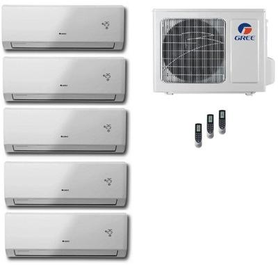 TEPELNÉ čerpadlá GREE 4x2,6+3.7 kW akumulátorových