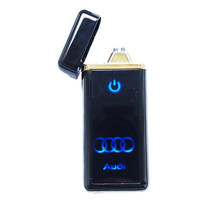 Зажигалка плазменная AUDI зажигалка LED Сенсорная