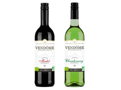 вино Безалкогольные напитки 2x Vendome Мадемуазель Ноль % био