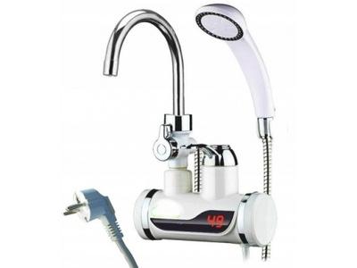 электрический подогреватель воды ДУШ + ЖК 3000W