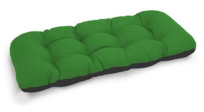 подушка на скамейку садовую качели 120x50 зеленый