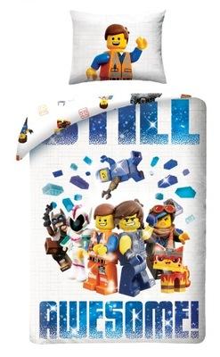 OBLIEČKY 140X200 LEGO dobrodružstvo 2