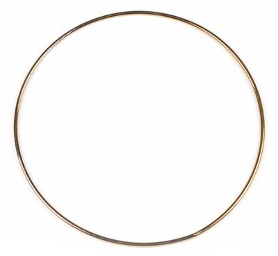 ЗОЛОТОЙ металлический обруч кольцо  ???