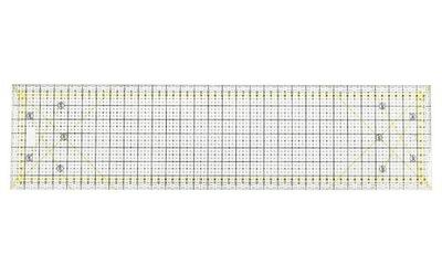 Линейка Прямоугольная 60 x 15 см с углами