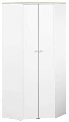 ЭЛМО 03 шкаф белая Угловой С ПОЛКАМИ