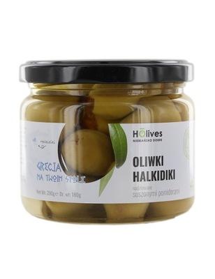 Оливки Халкидики фаршированные сушеными помидорами