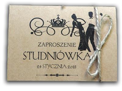 Zaproszenia Na Studniówkę Sylwestra Studniówka Eko 6981368502