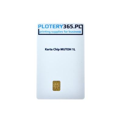 Karta Chip Do Ploterów Mutoh pojemność 1 litr