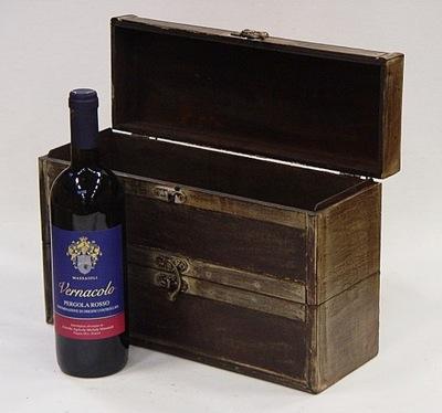 HRUDNÍK VÍNO BOX pre dve fľaše KL