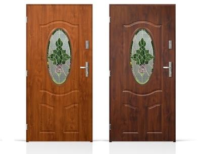 двери Внешние Входные Стальные  80 /90