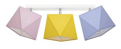 Svietidlá do detskej komora stropné Svietidlo DIAMENCIK 3 - výber farieb