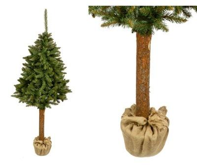 Vianočné stromčeky umelé Stromu JEDĽA PRÍRODNÉ 220 CM ZÁSOB