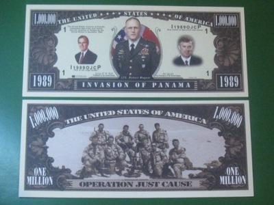 ??? Банкноту One Million Вторжение в Панаму