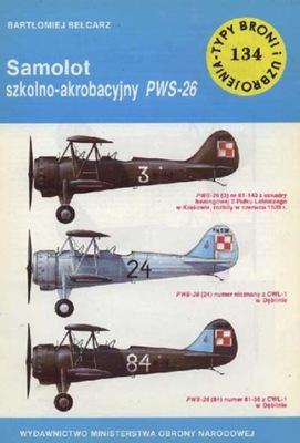 TBiU 134 САМОЛЕТ ШКОЛЬНО-мацей пилотажная VIRUS-26