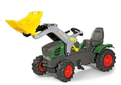 Rolly toys Traktor Fendt lyžica + čerpadlá. koliesko 611089