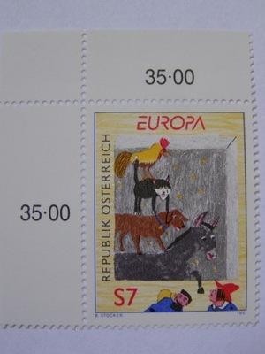 Австрия - Europa CEPT 1997 - живопись Мне. 2221 **