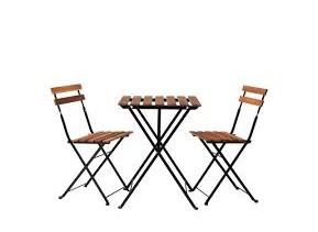 комплект садовый СТОЛ  ??????????  + 2  стулья