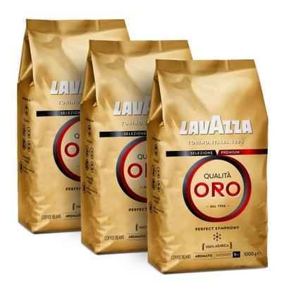кофе ? зернах Lavazza Qualita Oro 3x1kg