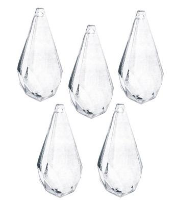 подвески кристаллы капли украшения на елку x5