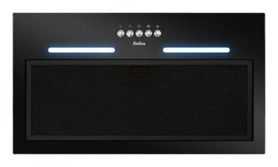 вытяжка ??? установки Amica OMP 6252BG Черный стекло LED